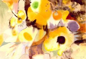 Willi Ulfig: Sonnenblumen