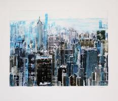 Gottfried Salzmann: New York contre jour