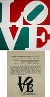Robert Indiana: Italian LOVE
