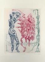 Bernard Schultze: Tanz zu dritt