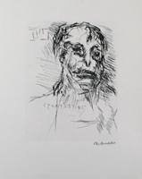 Oskar Kokoschka: Imaginäres Bildnis des Aristophanes