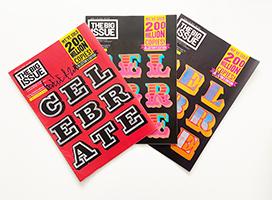 Ben Eine: Set: Big Issue x Ben Eine Collector's Edition