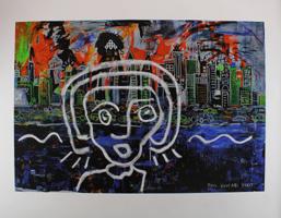 Paul Kostabi: Ohne Titel
