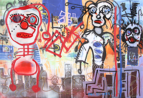 Paul Kostabi: All Things will Come and Go