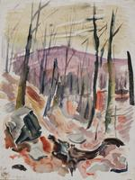 Werner Drewes: Herbstwald