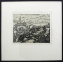 Otto Coester: Dorfansicht