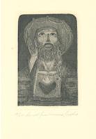 Ernst Fuchs: Das Christkind über dem Purgatorium