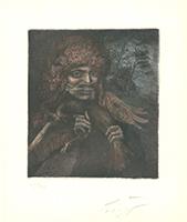 Ernst Fuchs: Der Vogelfresser