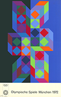 Victor Vasarely: Olympische Spiele München