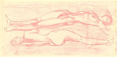 Ernst Fuchs: Eva Triptychon
