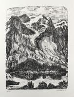 Erich Heckel: Berghang am See
