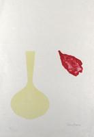 Derrick Greaves: Vase and falling Petal
