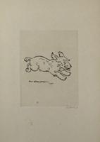 Renee Sintenis: Springender Terrier