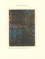 Max Ernst: La dent de scie d'un éclair fouilla soudain des nuages...