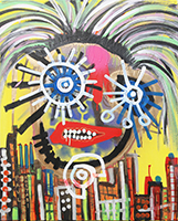 Paul Kostabi: Whimpering And Simpering