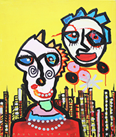 Paul Kostabi: Mr. and Mrs. Collector