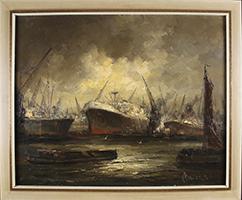 John Bevort: Hafen Antwerpen