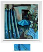 Vogt: Komposition mit Schirm