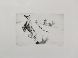 Friedrich Heubner: Fliehender