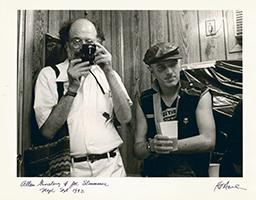 Hank O´Neal: Allen Ginsberg & Joe Strummer