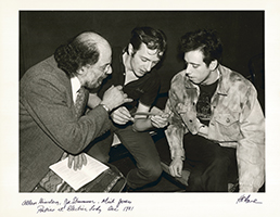 Hank O´Neal: Allen Ginsberg, Joe Strummer & Mick Jones of the Clash