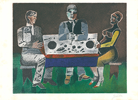 Franco Gentilini: Bei Tisch