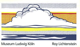 Roy Lichtenstein: Cloud and Sea