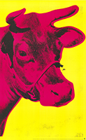 Andy Warhol: Cow