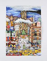 Linnea Pergola: Light Snowfall in NYC