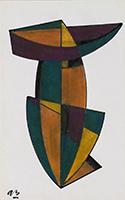 Anna Béöthy-Steiner: Geometrische Komposition