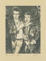 Shepard Fairey (+ Morris, Dennis): Sid Choking a Friend