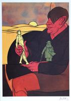 Valerio Adami: Statuette