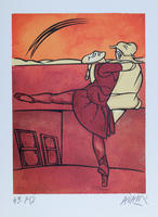 Valerio Adami: Ballett