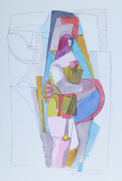 Richard Lindner: Untitled II