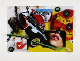 Peter Klasen: Robinet /Black / Car / Sourire