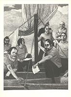 Johannes Grützke: In einem Boot