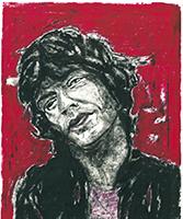 Frank Maessig: Mick Jagger II