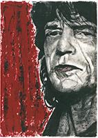 Frank Maessig: Mick Jagger I