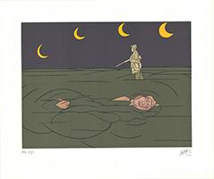 Valerio Adami: Petit clair de lune