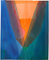Willibrord Haas: Veilchenblauer Bogen