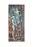 Ernst Fuchs: Perseus - Hommage à Daidalos