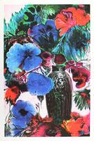 Ernst Fuchs: Große blaue Blüten