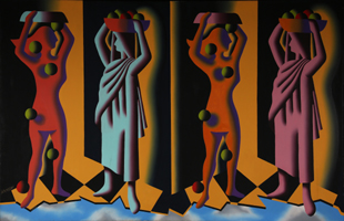 Mark Kostabi: Food Chain