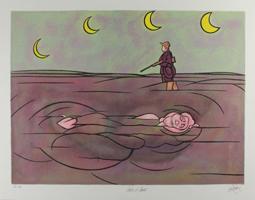 Valerio Adami: Claire de lune