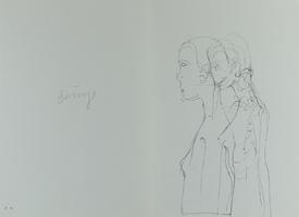 Joseph Beuys: ohne Titel (Weiblicher Akt)