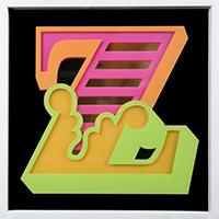 Ben Eine: New Circus 'Z'