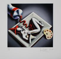 Mark Kostabi: Fetal composition