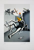 Mark Kostabi: Hangover square