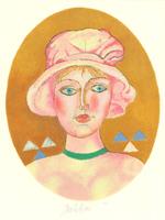 Franco Gentilini: Dame mit Hut