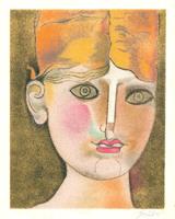 Franco Gentilini: Porträt einer Frau